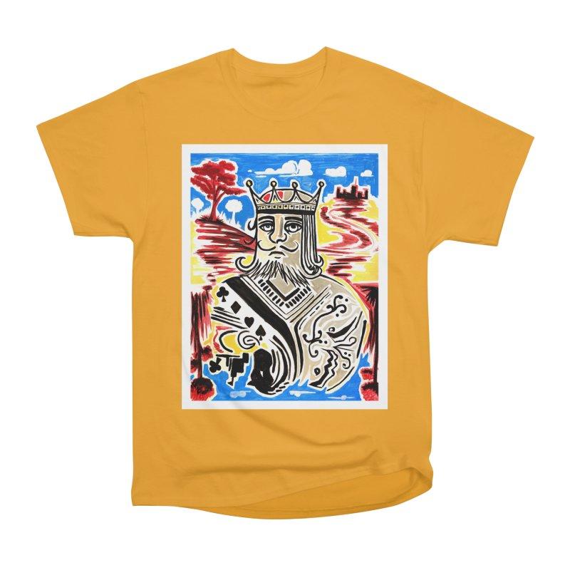 King Of Cards Women's Classic Unisex T-Shirt by adamzworld's Artist Shop