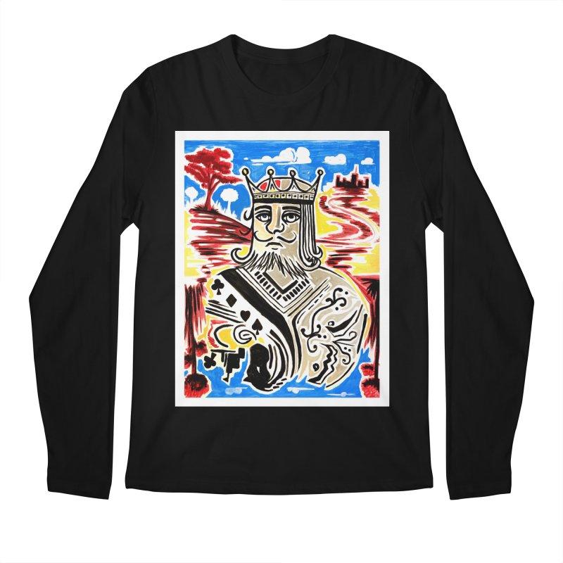 King Of Cards Men's Longsleeve T-Shirt by adamzworld's Artist Shop