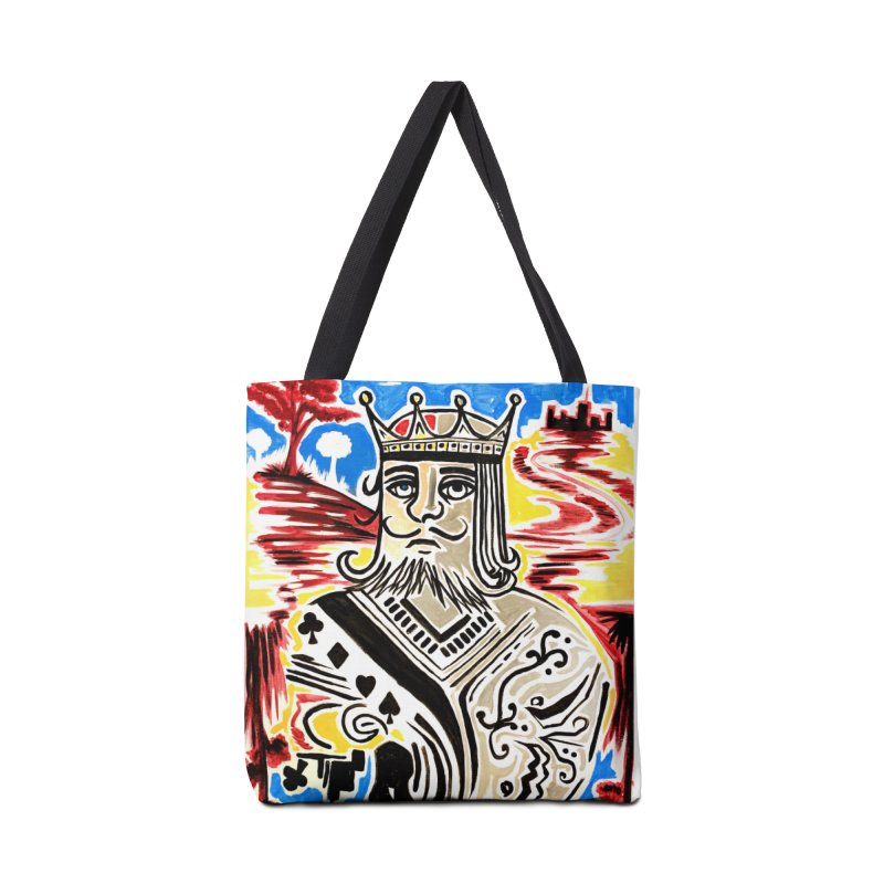 King Of Cards Accessories Bag by adamzworld's Artist Shop