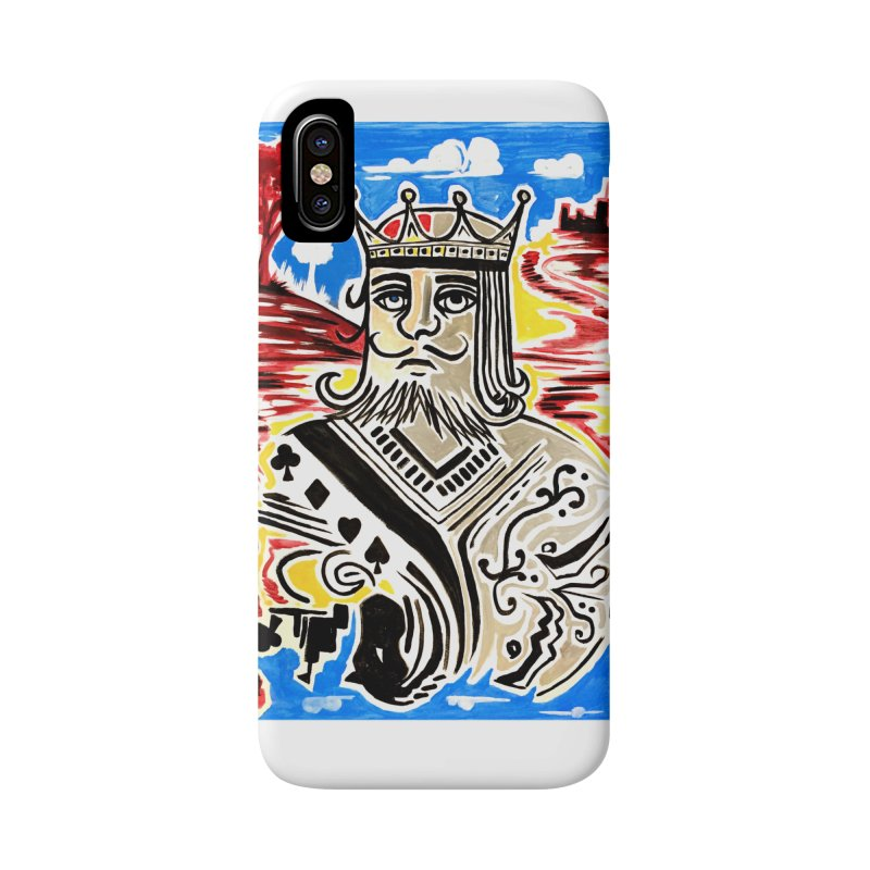 King Of Cards Accessories Phone Case by adamzworld's Artist Shop