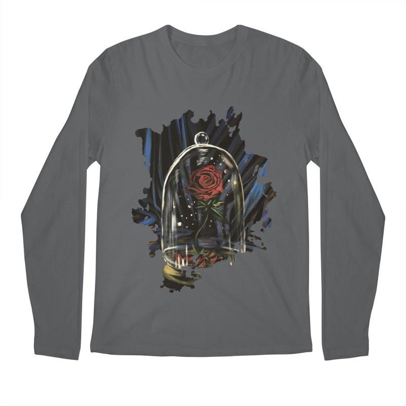 Enchanted Rose Men's Longsleeve T-Shirt by adamzworld's Artist Shop