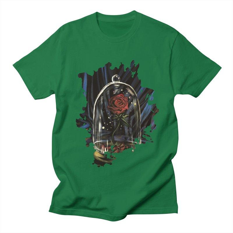 Enchanted Rose Men's T-Shirt by adamzworld's Artist Shop