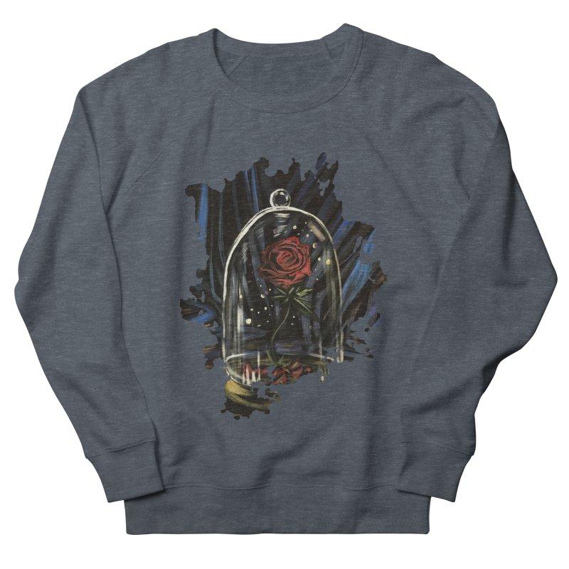Enchanted Rose Men's Sweatshirt by adamzworld's Artist Shop