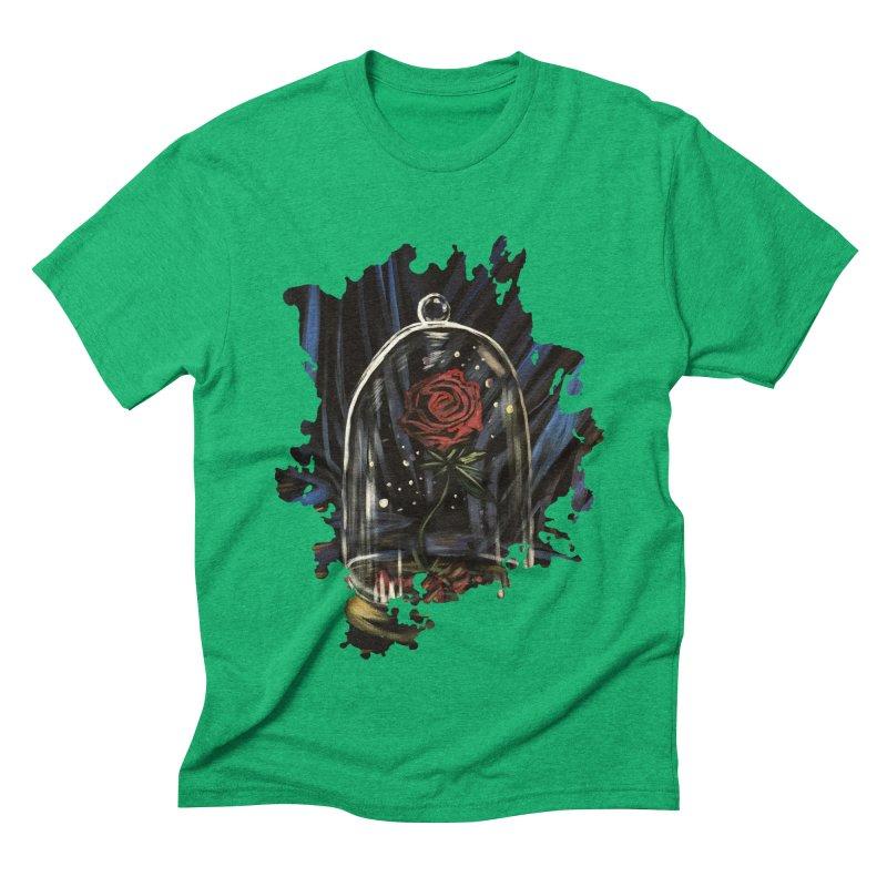 Enchanted Rose Men's Triblend T-Shirt by adamzworld's Artist Shop