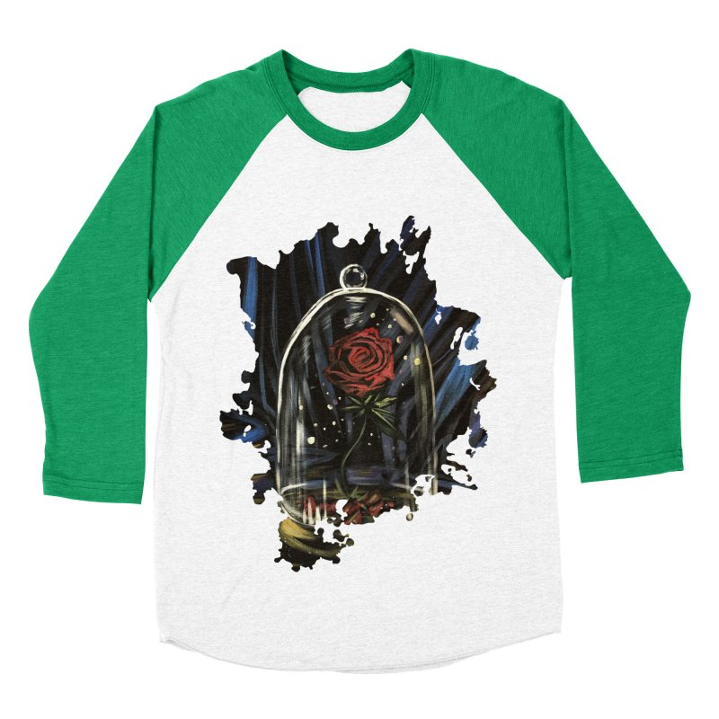 Enchanted Rose Women's Baseball Triblend T-Shirt by adamzworld's Artist Shop
