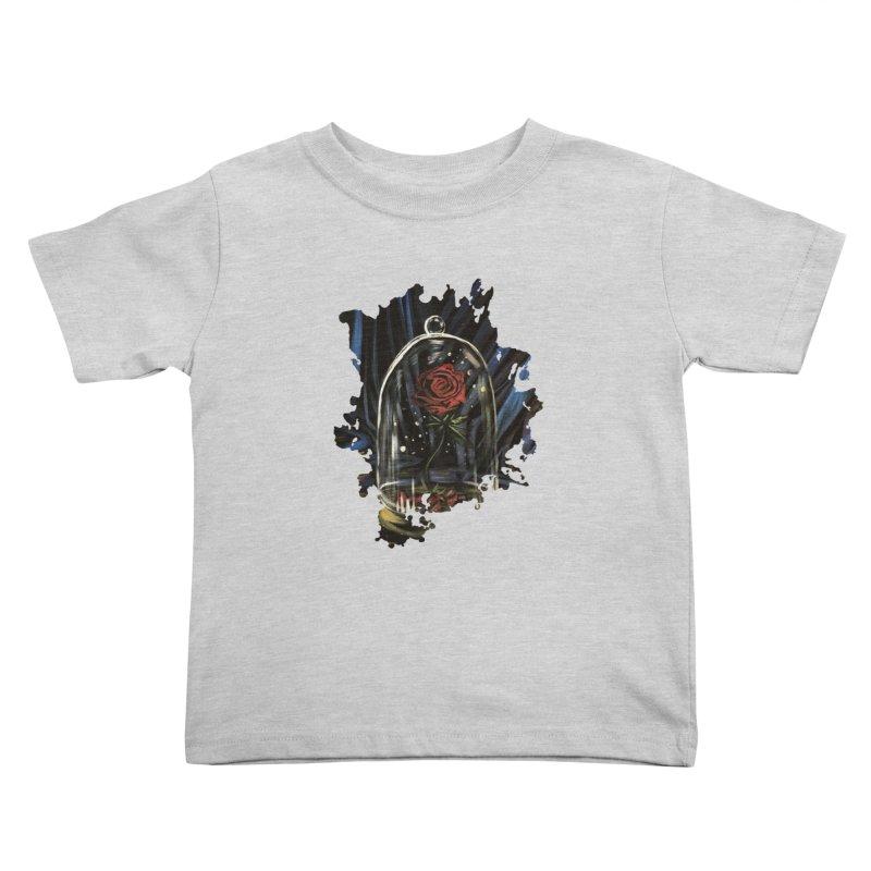Enchanted Rose Kids Toddler T-Shirt by adamzworld's Artist Shop