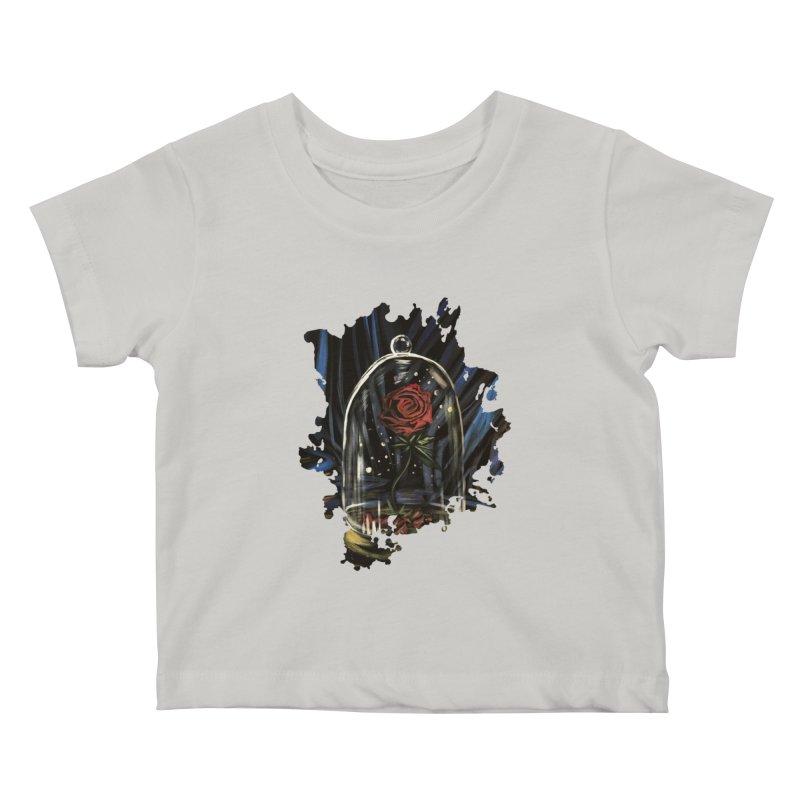 Enchanted Rose Kids Baby T-Shirt by adamzworld's Artist Shop