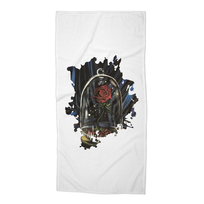 Enchanted Rose Accessories Beach Towel by adamzworld's Artist Shop