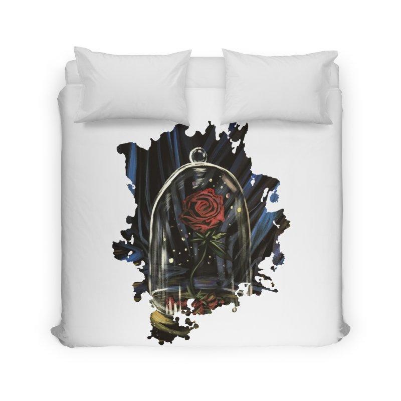 Enchanted Rose Home Duvet by adamzworld's Artist Shop