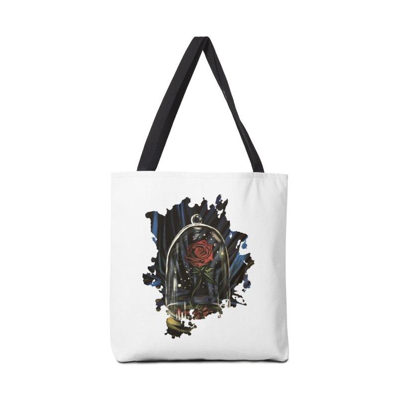 Enchanted Rose Accessories Bag by adamzworld's Artist Shop