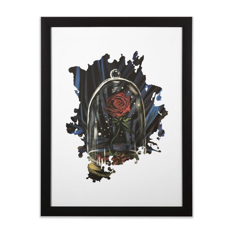Enchanted Rose Home Framed Fine Art Print by adamzworld's Artist Shop