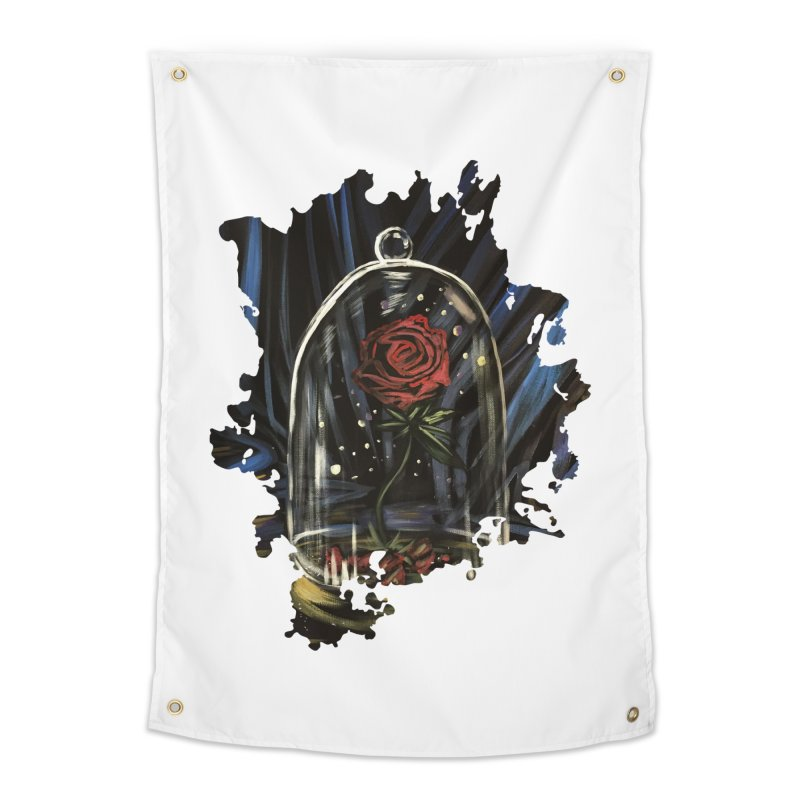 Enchanted Rose Home Tapestry by adamzworld's Artist Shop
