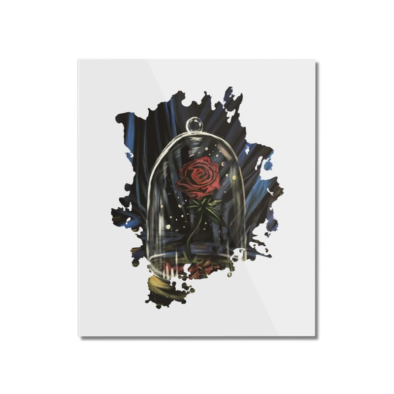 Enchanted Rose Home Mounted Acrylic Print by adamzworld's Artist Shop
