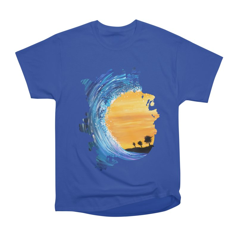 Tidal Wave Women's Classic Unisex T-Shirt by adamzworld's Artist Shop