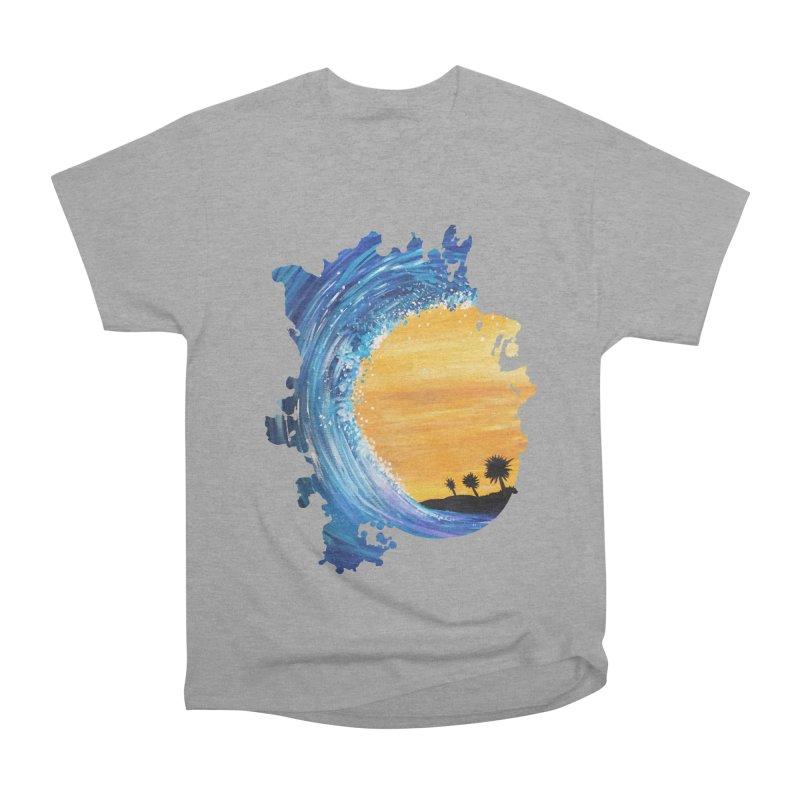 Tidal Wave Men's Classic T-Shirt by adamzworld's Artist Shop
