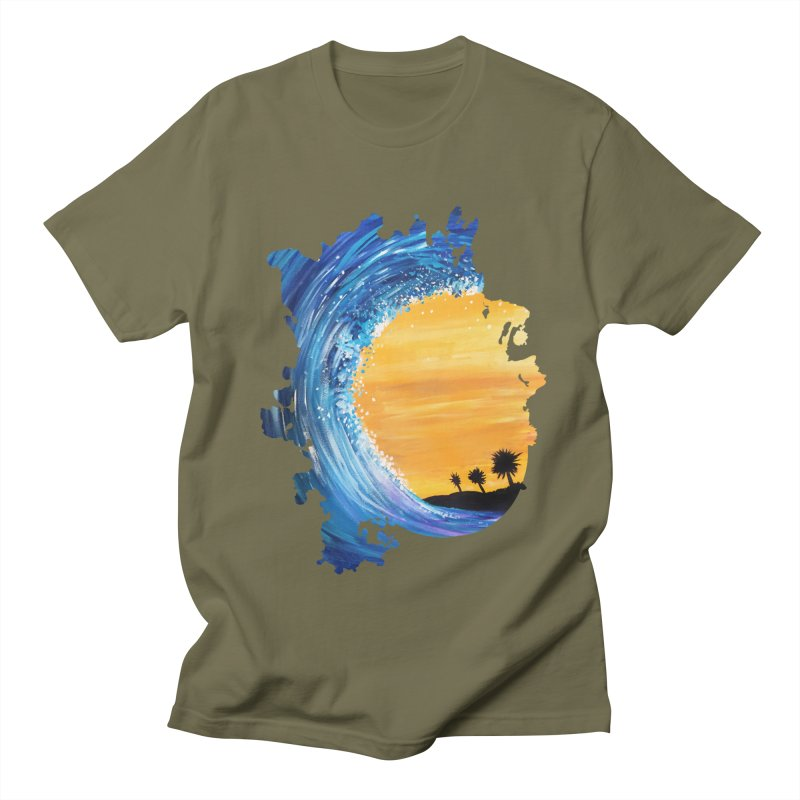 Tidal Wave Women's Unisex T-Shirt by adamzworld's Artist Shop