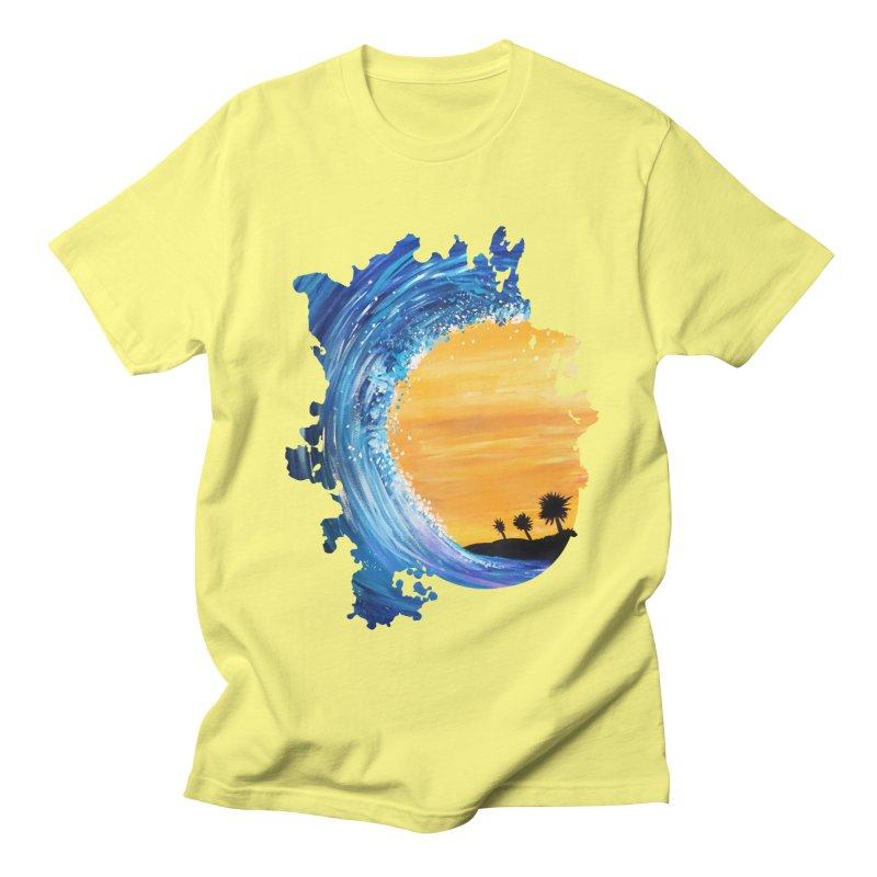 Tidal Wave Men's T-Shirt by adamzworld's Artist Shop