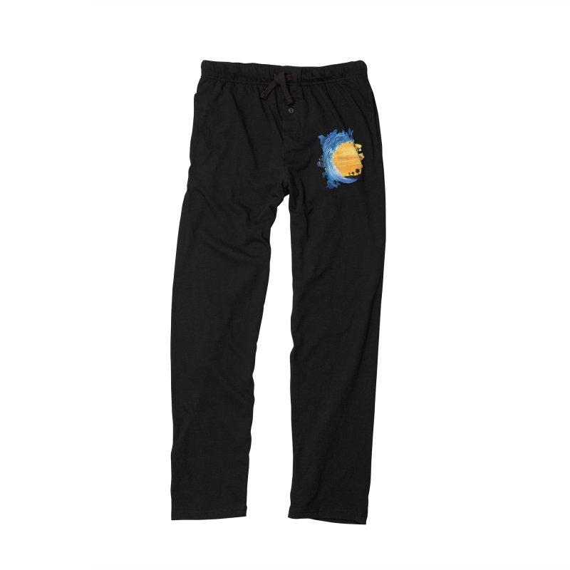 Tidal Wave Men's Lounge Pants by adamzworld's Artist Shop