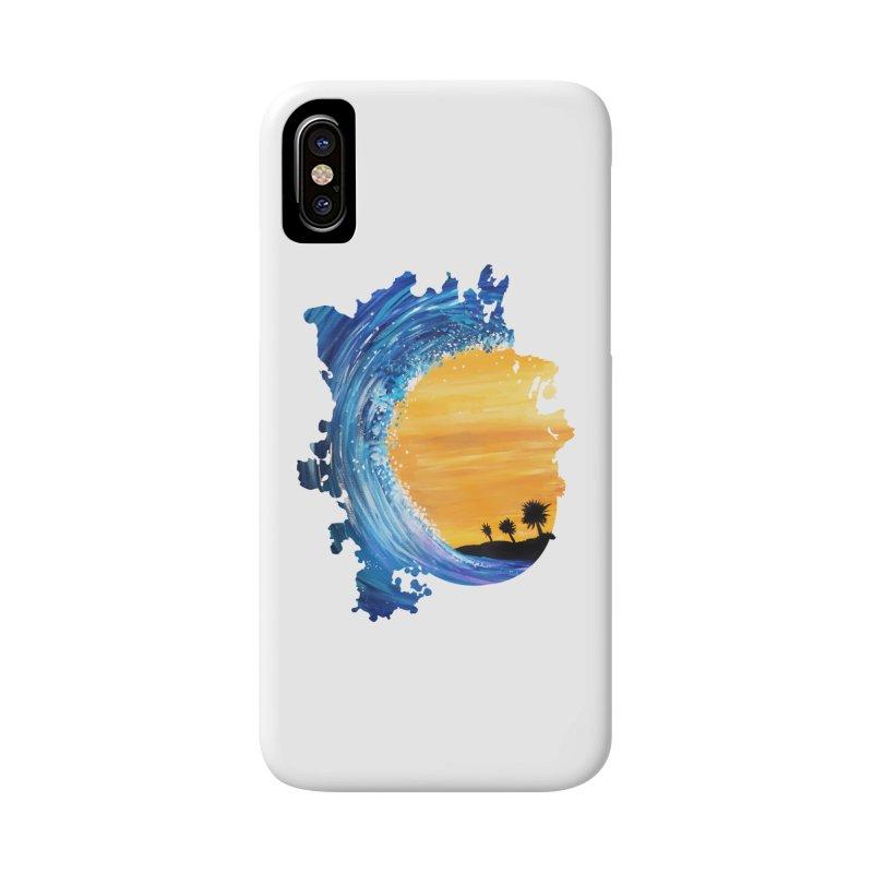 Tidal Wave Accessories Phone Case by adamzworld's Artist Shop