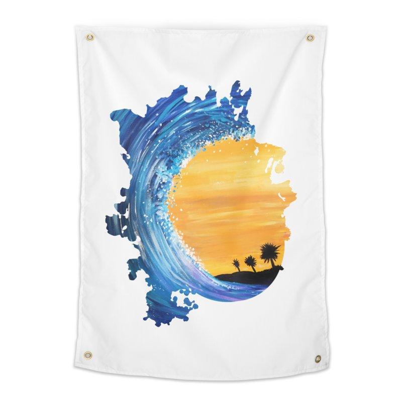 Tidal Wave Home Tapestry by adamzworld's Artist Shop