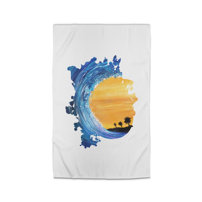 Tidal Wave Home Rug by adamzworld's Artist Shop