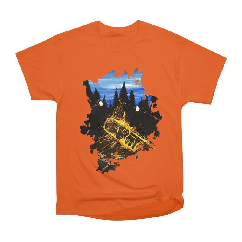 Camp Fire Men's Classic T-Shirt by adamzworld's Artist Shop