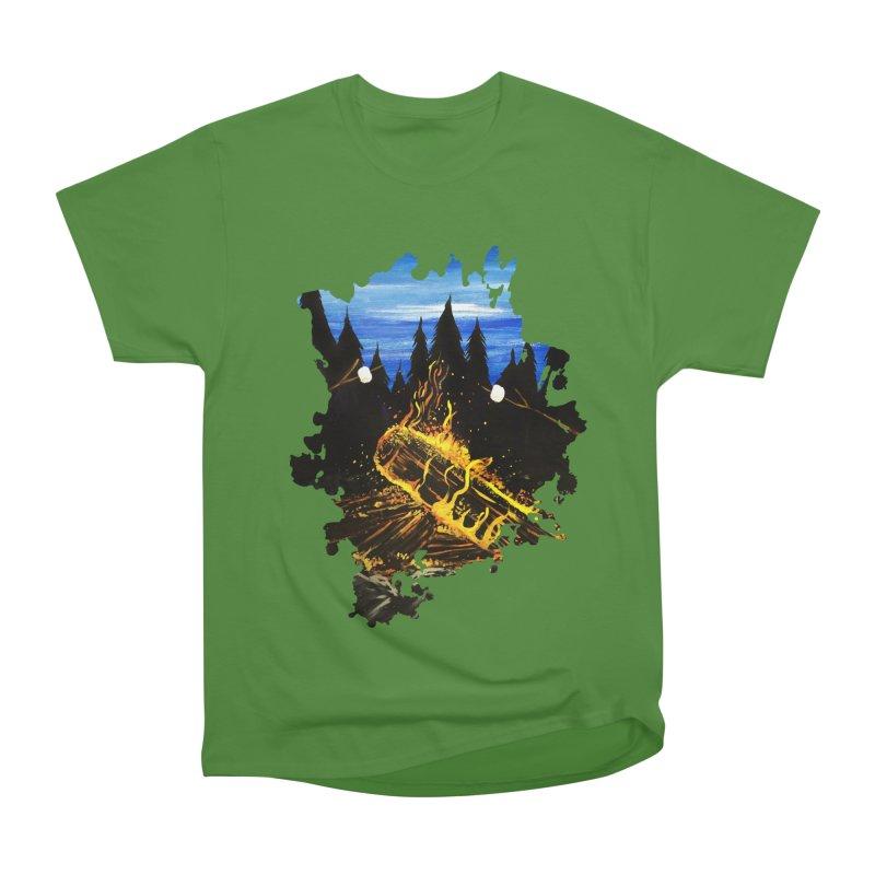 Camp Fire Women's Classic Unisex T-Shirt by adamzworld's Artist Shop