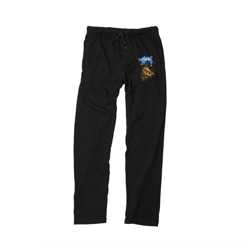 Camp Fire Men's Lounge Pants by adamzworld's Artist Shop