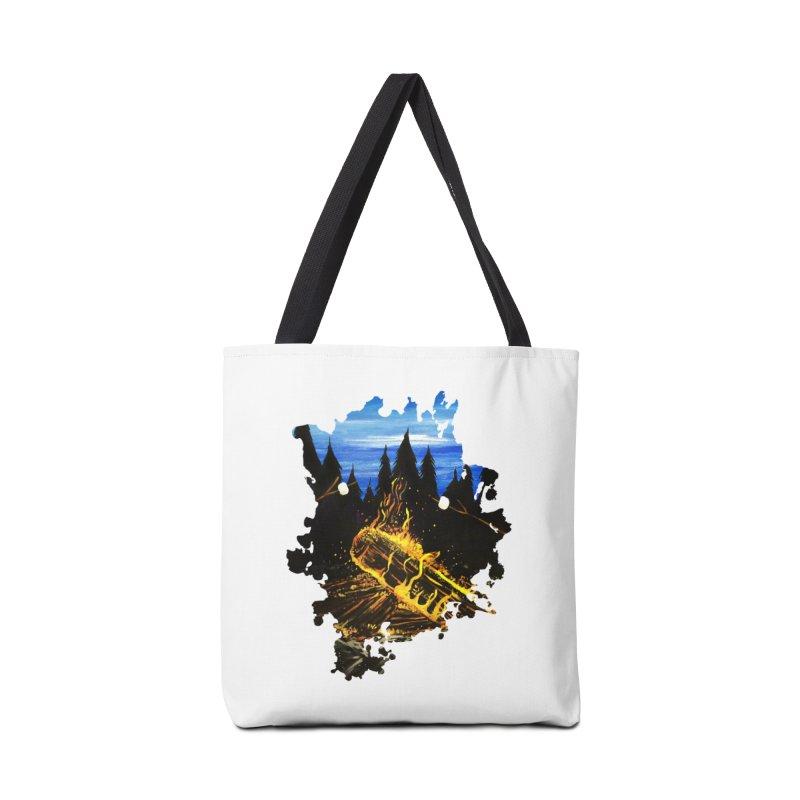 Camp Fire Accessories Bag by adamzworld's Artist Shop