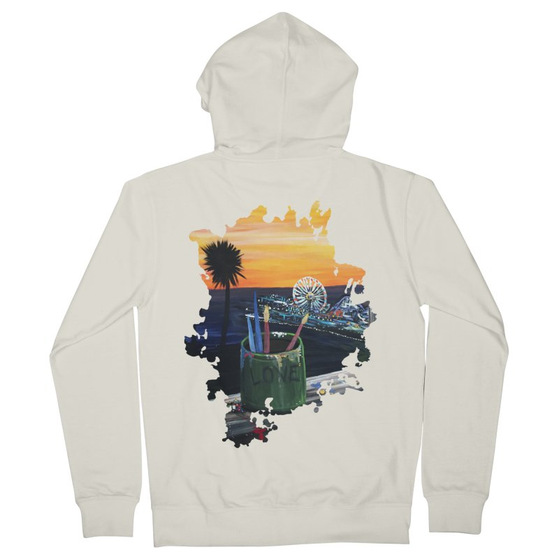 Artist View Men's Zip-Up Hoody by adamzworld's Artist Shop