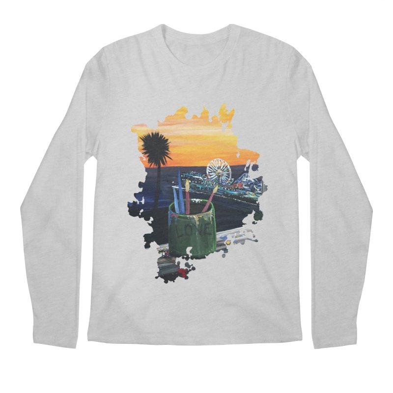 Artist View Men's Longsleeve T-Shirt by adamzworld's Artist Shop