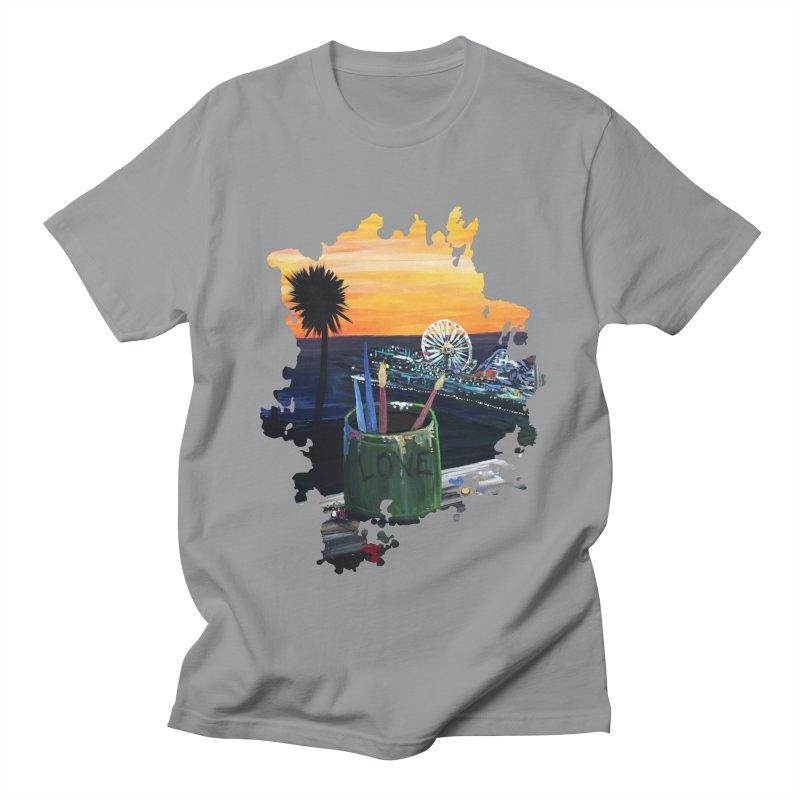 Artist View Men's T-Shirt by adamzworld's Artist Shop