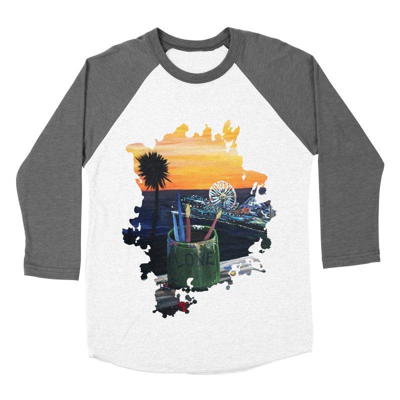 Artist View Women's Baseball Triblend T-Shirt by adamzworld's Artist Shop