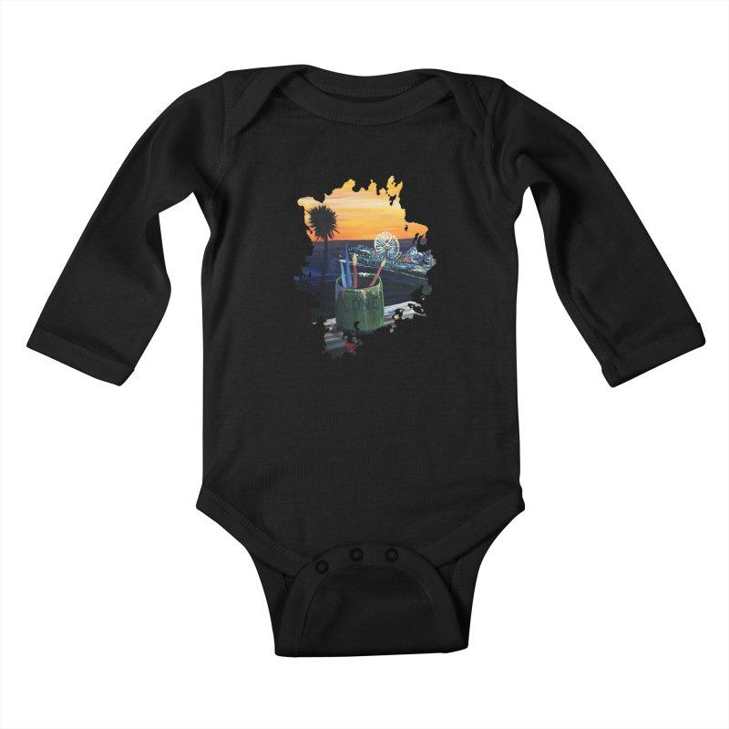 Artist View Kids Baby Longsleeve Bodysuit by adamzworld's Artist Shop