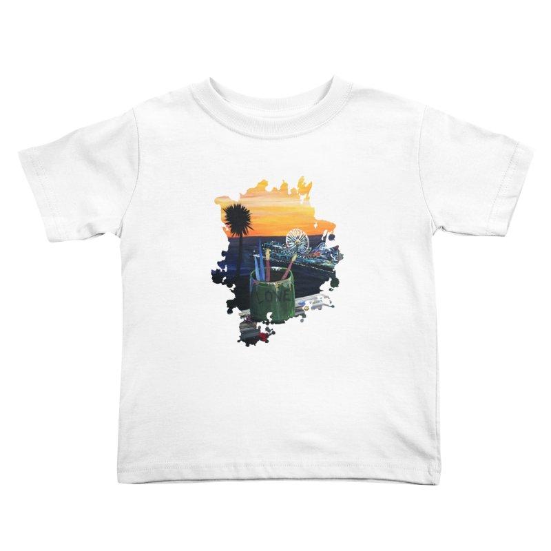 Artist View Kids Toddler T-Shirt by adamzworld's Artist Shop
