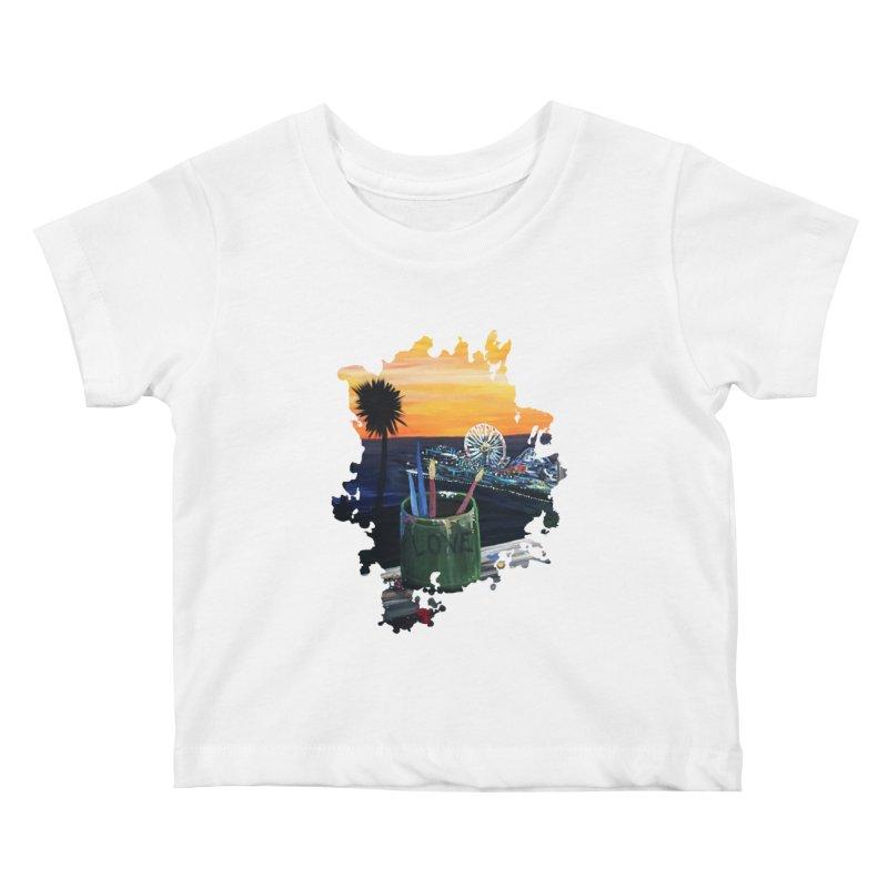 Artist View Kids Baby T-Shirt by adamzworld's Artist Shop