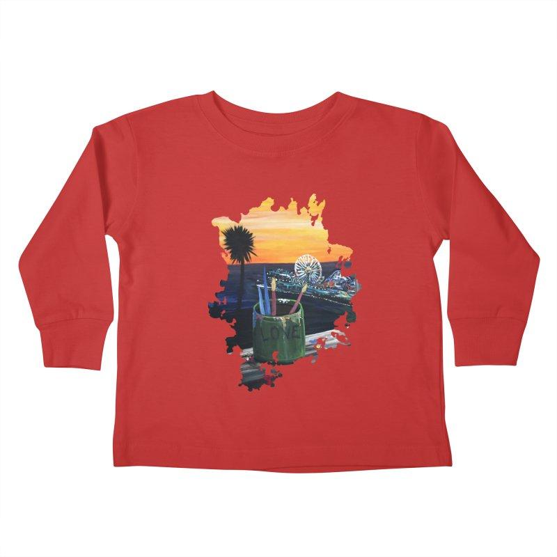 Artist View Kids Toddler Longsleeve T-Shirt by adamzworld's Artist Shop