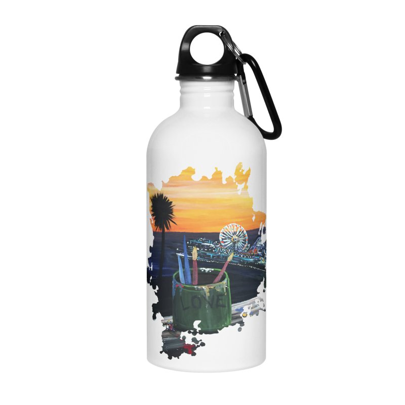 Artist View Accessories Water Bottle by adamzworld's Artist Shop