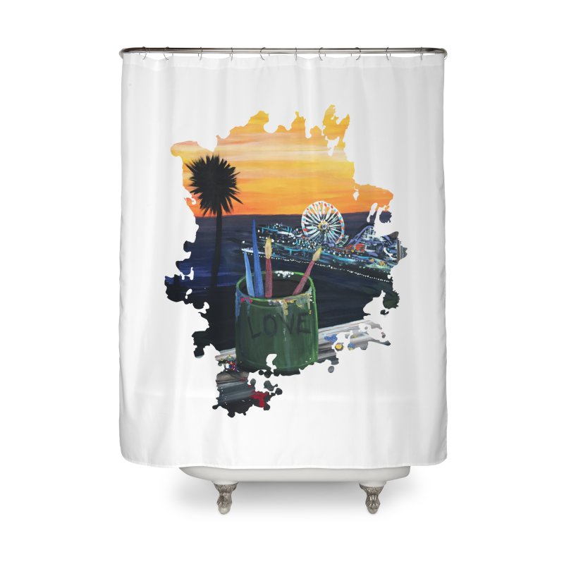 Artist View Home Shower Curtain by adamzworld's Artist Shop