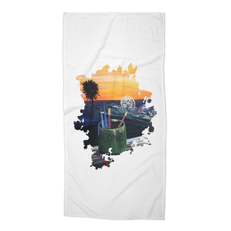 Artist View Accessories Beach Towel by adamzworld's Artist Shop