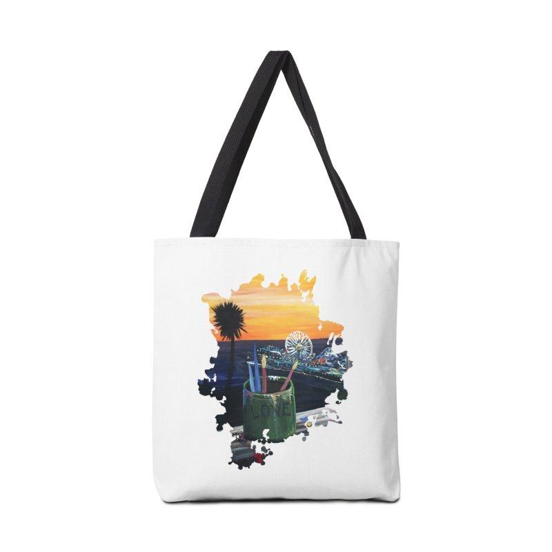 Artist View Accessories Bag by adamzworld's Artist Shop
