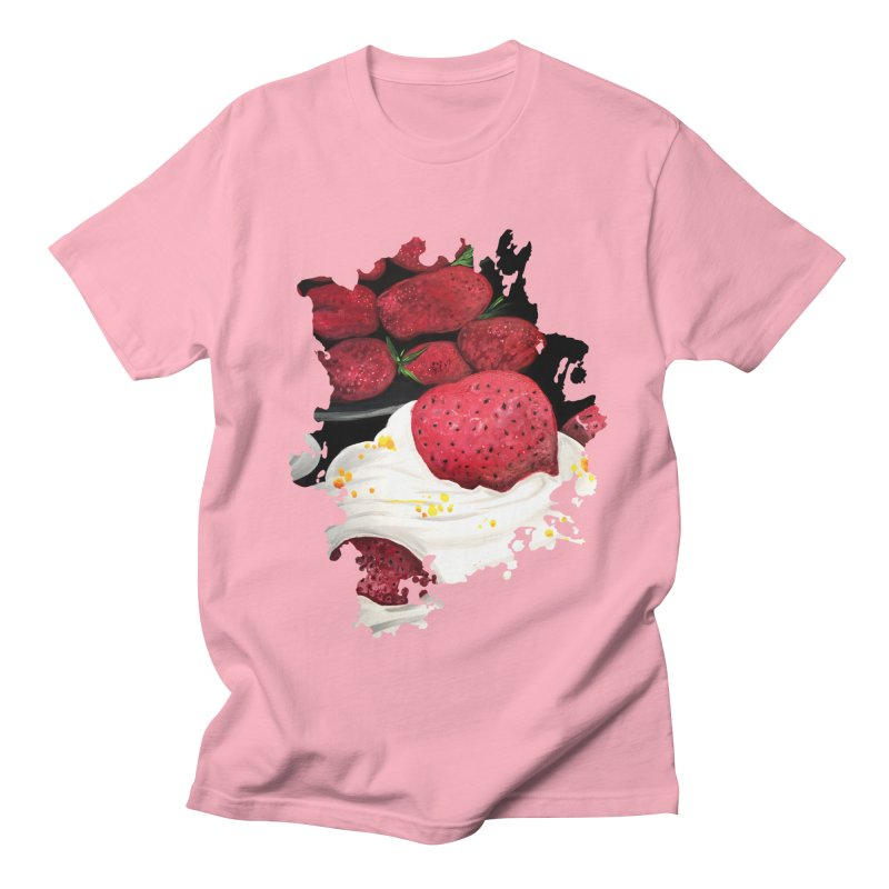 Strawberry Dream Men's T-Shirt by adamzworld's Artist Shop