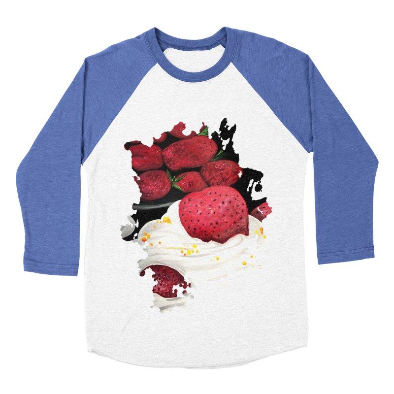 Strawberry Dream Women's Baseball Triblend T-Shirt by adamzworld's Artist Shop