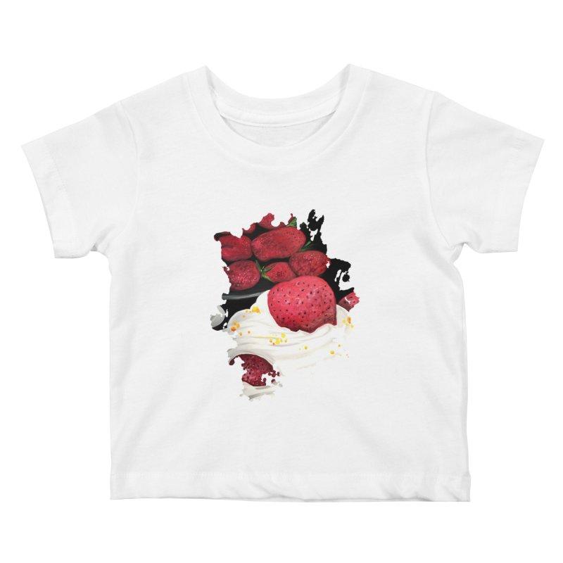 Strawberry Dream Kids Baby T-Shirt by adamzworld's Artist Shop