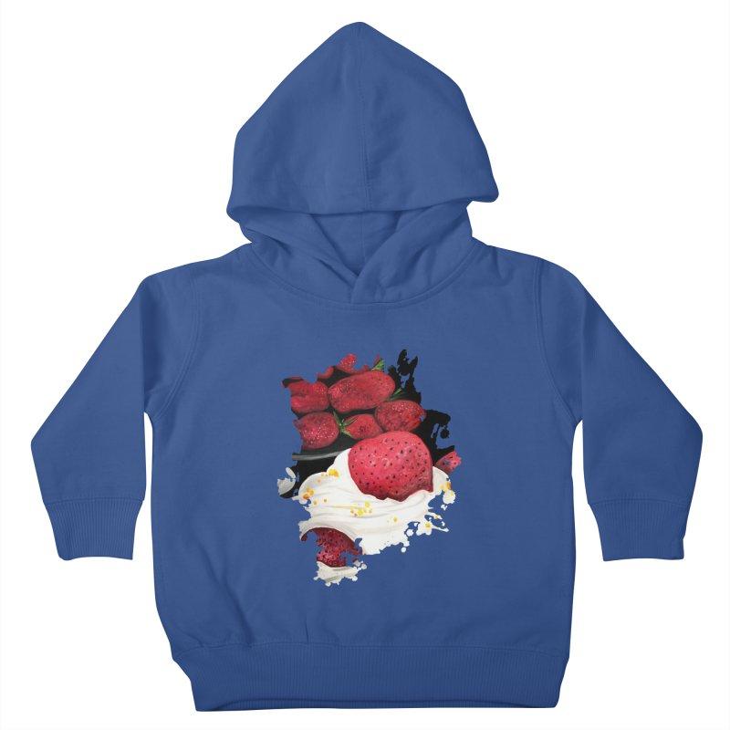 Strawberry Dream Kids Toddler Pullover Hoody by adamzworld's Artist Shop
