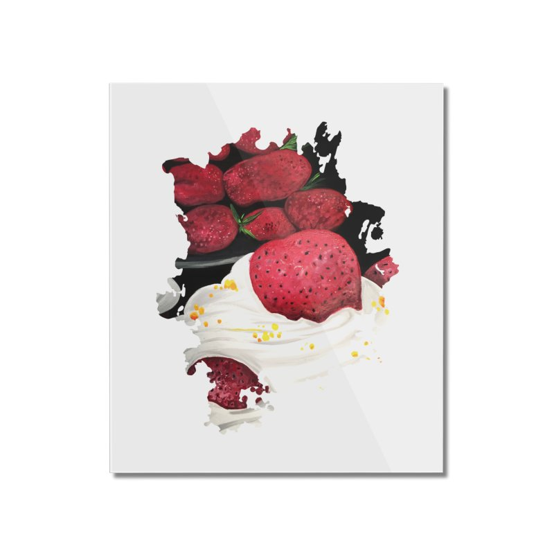 Strawberry Dream Home Mounted Acrylic Print by adamzworld's Artist Shop