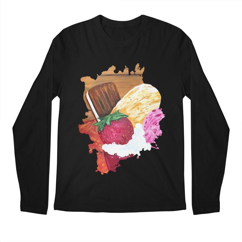 Ice Cream Dream Men's Longsleeve T-Shirt by adamzworld's Artist Shop