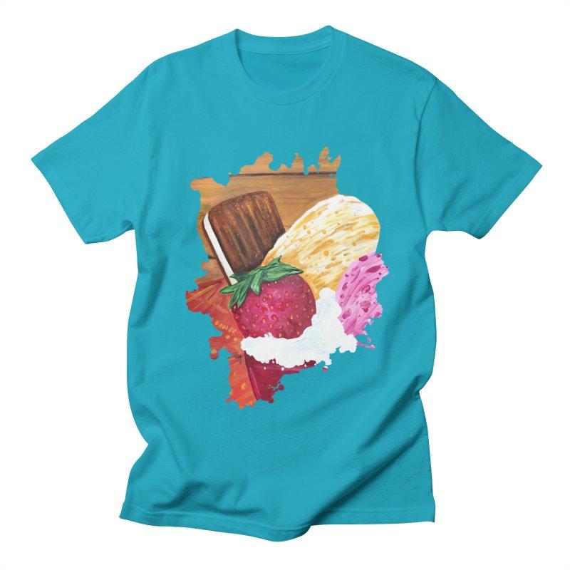 Ice Cream Dream Women's Unisex T-Shirt by adamzworld's Artist Shop