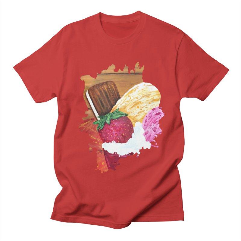 Ice Cream Dream Men's T-Shirt by adamzworld's Artist Shop