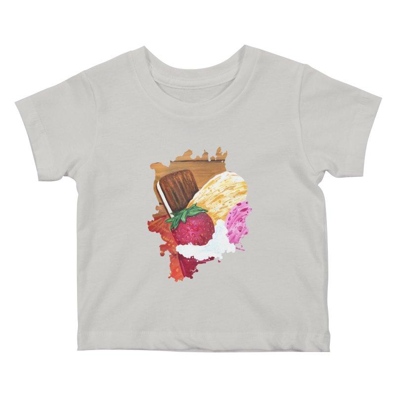 Ice Cream Dream Kids Baby T-Shirt by adamzworld's Artist Shop